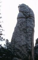First Ascent of Tiki, Needles of South Dakota